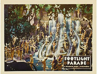 By a Waterfall - Lobby card for Footlight Parade