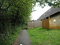 Footpath behind Harting Village Hall - geograph.org.uk - 795403.jpg