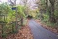 Footpath on Hookwood Road - geograph.org.uk - 1575591.jpg