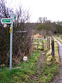Footpath to Great Chattenden Wood - geograph.org.uk - 641983.jpg