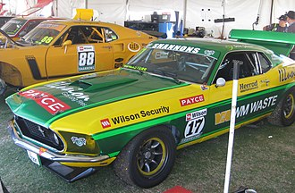 Steven Johnson (racing driver) - Johnson won the 2017 Touring Car Masters driving a Ford Mustang
