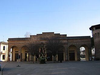 Forlimpopoli - Gate in Forlimpopoli.
