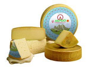 Asiago cheese - Image: Formaggio Asiago Dop