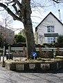 Formal Flower bed, School Corner, Old Road and Greenway Road - geograph.org.uk - 368486.jpg