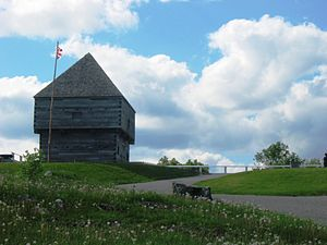 History of Saint John, New Brunswick - Fort Howe