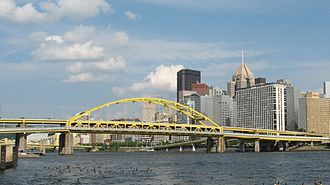 Fort Duquesne Bridge - Image: Fort Duquesne Bridge