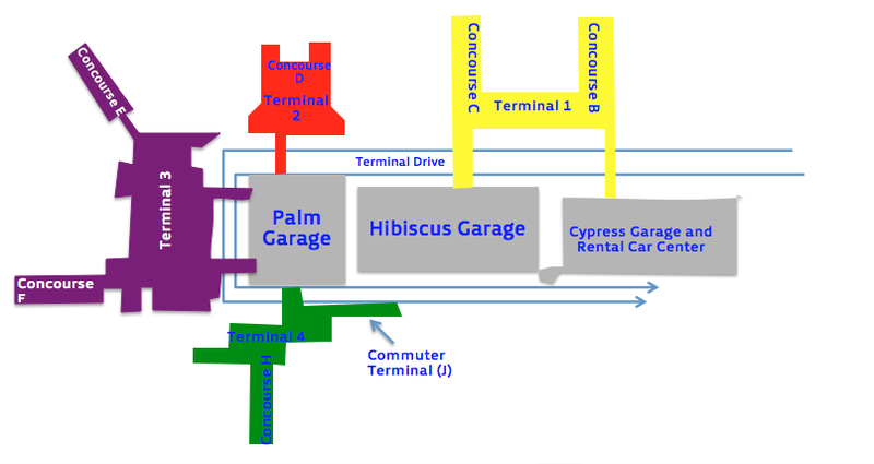 Fil Fort Lauderdale Hollywood Airport Terminal Map Png