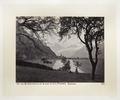 Fotografi av berg och sjö i Schweiz - Hallwylska museet - 103159.tif