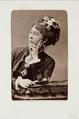 Fotografiporträtt på fru Bors född Lázár - Hallwylska museet - 107738.tif