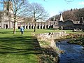 Fountains Abbey and River Skell - geograph.org.uk - 1221751.jpg