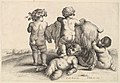 Four boys, a young satyr and a goat MET DP822966.jpg