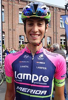 Mattia Cattaneo Italian racing cyclist
