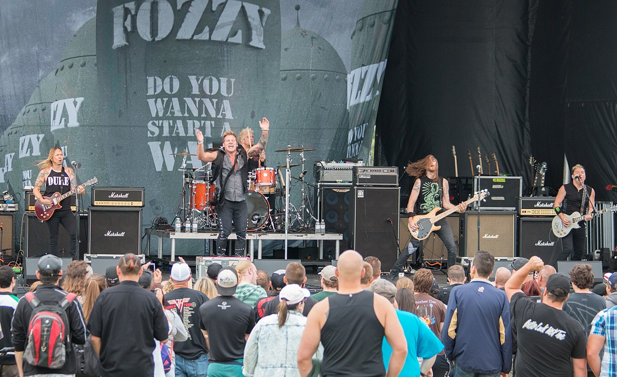 Festival Of Speed >> Fozzy - Wikipedia