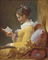 1 / A Young Girl Reading