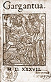 François Rabelais, Gargantua, Lyon, Denis de Harsy, 1537.jpg