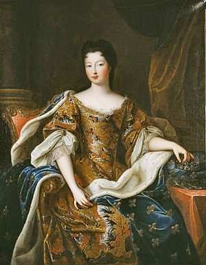 1700 in art - Image: Françoise Marie de Bourbon in 1700; Duchess of Chartres