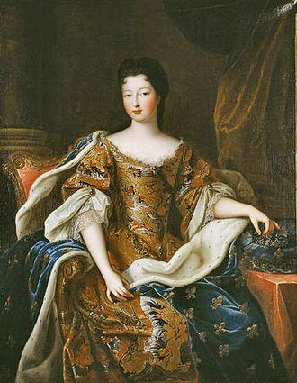 Françoise Marie de Bourbon - Image: Françoise Marie de Bourbon in 1700; Duchess of Chartres