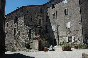 Antraigues-sur-Volane - The Espace J. Saussac