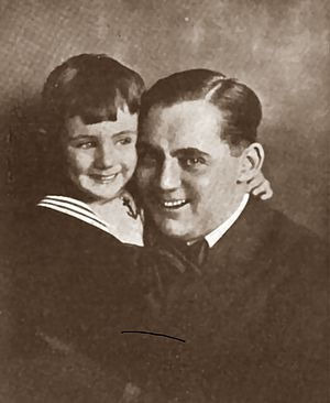 Frank Tinney - Tinney with son Frank, Jr. in Everybody's Magazine (January–June, 1921)