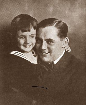 Frank Tinney - Tinney with son Frank, Jr. in Everybody's Magazine (January–June, 1921)