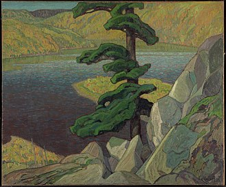 Franklin Carmichael - The Upper Ottawa, near Mattawa, 1924, National Gallery of Canada, Ottawa