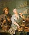 Frans van Mieris mł. - U przekupki 1738.jpg