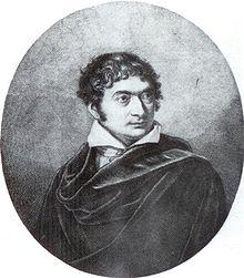 Franz Dominicus Brentano, Porträt von Joseph Stieler, 1808 (Quelle: Wikimedia)