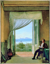 Franz Ludwig Catel, Schinkel in Naples (Source: Wikimedia)