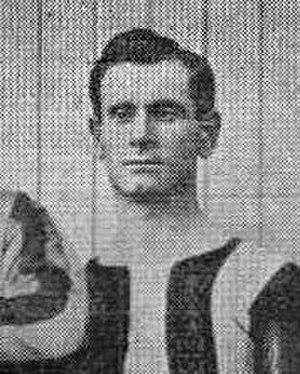 Fred Nidd - Nidd while with Brentford in 1902.