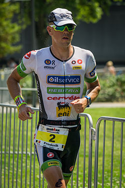 beim Ironman Germany, 2015