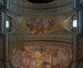 Frescos on the altar of Sant'Ignazio (Rome) HDR.jpg
