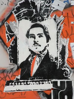 Friedrich Engels picture at Nikolaistraße/Kaul...