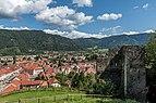 Friesach Rotturm Verteidigungsanlage West-Ansicht 04092017 0709.jpg
