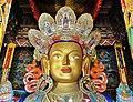 Front profile, Maitreya Buddha, Thiksay Monastery - 1.jpg