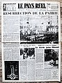 "Frontpage French newspaper ""Le Pay Reel"" january 19 1943.jpg"