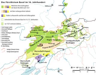 Prince-Bishopric of Basel principality