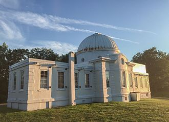 Cornell North Campus - Fuertes Observatory on Cornell's North Campus was built in 1917 and is open to the public every Friday Night.