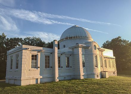 The Fuertes Observatory on Cornell's North Campus is open to the public every Friday night FuertesObservatoryCornell.jpg
