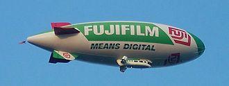 Fujifilm - A Fujifilm blimp