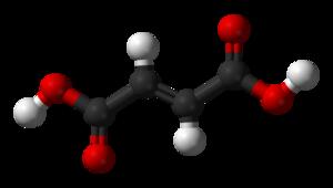 Fumaric acid - Image: Fumaric acid 3D balls