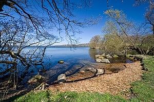 Furesø (lake) - Image: Furesøen at Frederiksdal
