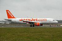G-EZUJ - A320 - EasyJet