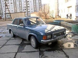 GAZ-3102 - Image: GAZ 3102 Volga