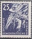GDR-stamp Kohlebergbau 25 1957 Mi. 571.JPG