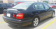 1997 - 2000 Lexus GS400 photographed in Sault Ste. Marie, Ontario, Canada
