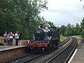 GWR 5199 at Kingscote Railway Station - geograph.org.uk - 1481991.jpg
