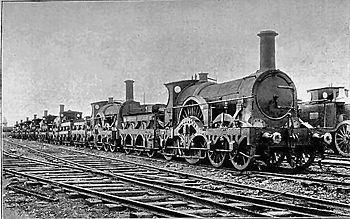 グレート・ウェスタン鉄道アイアン・デューク級蒸気機関車