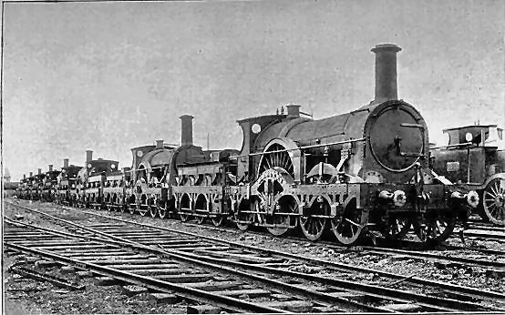 GWR broad gauge locomotives