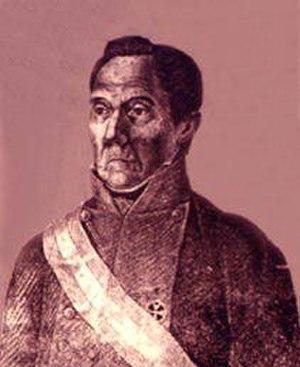Battle of Membrillar - Gabino Gaínza y Fernández, the Royalist commander