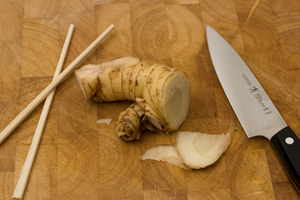 Galangal - Galangal rhizome ready to be prepared for cooking